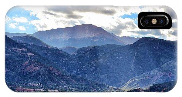 Westside Colorado Springs IPhone Case