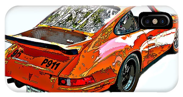 Wet Paint Porsche Sp911 IPhone Case