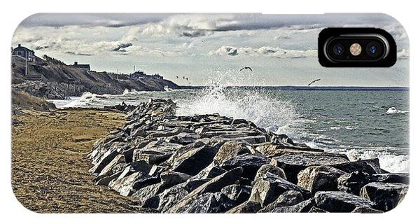 Wet Rock Walk  IPhone Case