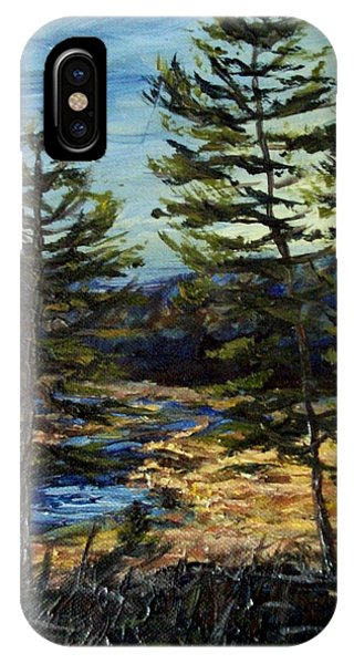 Wetland Meadow Phone Case by Denny Morreale