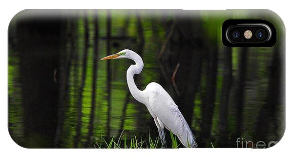 Wetland Wader IPhone Case