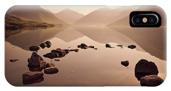 Morning Mist iPhone Case - Wetlands Mornings by Evelina Kremsdorf