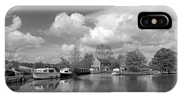 Wey Canal Ripley Surrey IPhone Case