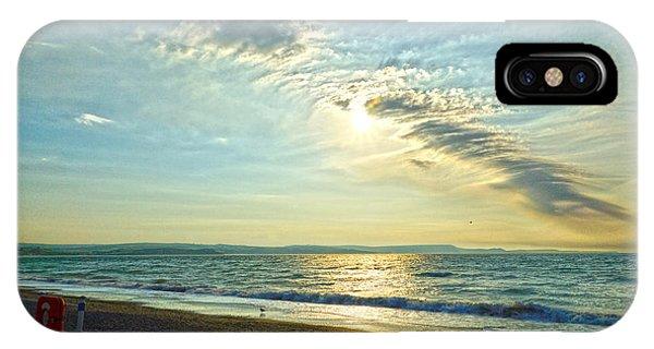 Weymouth Beach IPhone Case