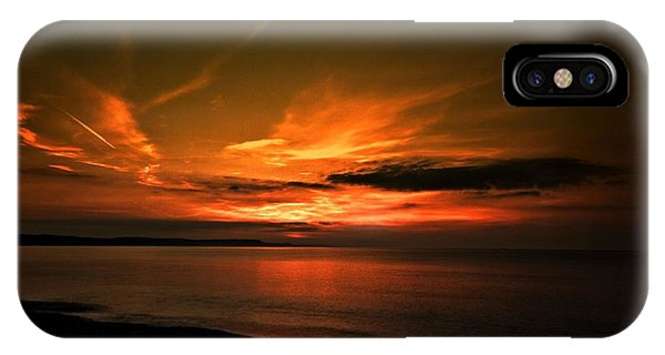 Weymouth  Golden Sunrise IPhone Case