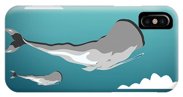 Whale 7 IPhone Case