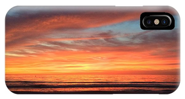 Whale Eye In Sky Sunset St.pete Beach IPhone Case