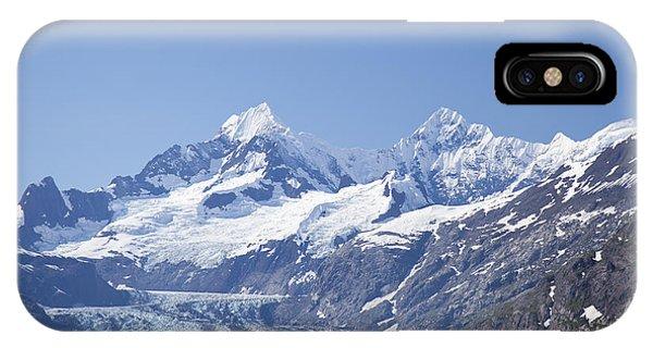whale in Glacier Bay Park Alaska IPhone Case