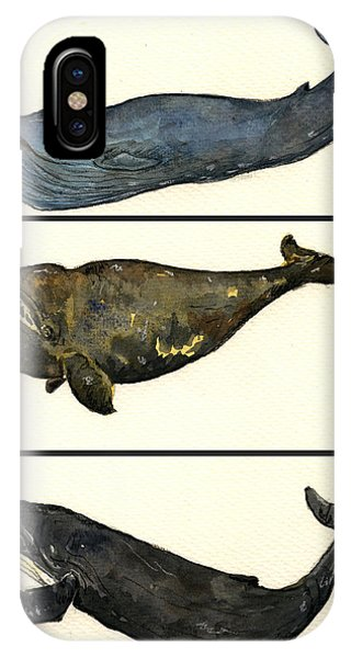 Rights iPhone Case - Whales Compilation 1 by Juan  Bosco