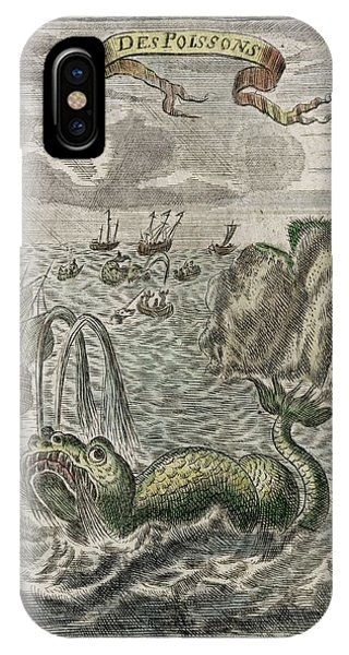 Whaling On The Grand Banks Off Phone Case by Mary Evans Picture Library