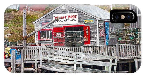 Wharf Hags Peggy's Cove IPhone Case