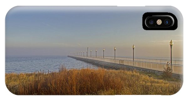 Wharf To Infinity IPhone Case
