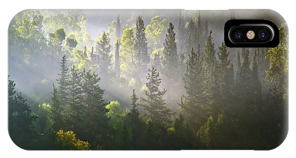 What A Misty Morning IPhone Case
