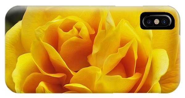 iPhone Case - What A Peach by Nancy Marie Ricketts
