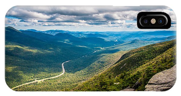 New Hampshire iPhone Case - What A View by Kristopher Schoenleber