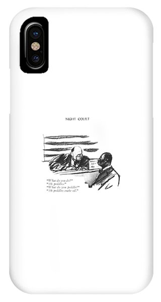 What Do You Do? Ah Peddles. What IPhone Case