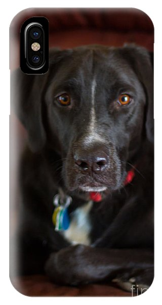 IPhone Case featuring the photograph What by Heather Roper