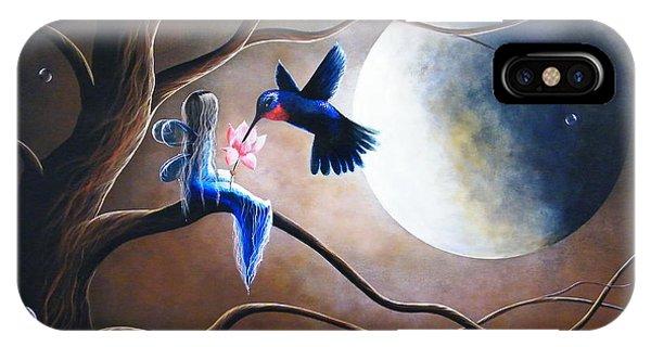 Hummingbird iPhone Case - What Love Looks Like By Shawna Erback by Erback Art