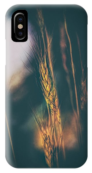 Uplift iPhone Case - Wheat Of The Evening by Bob Orsillo