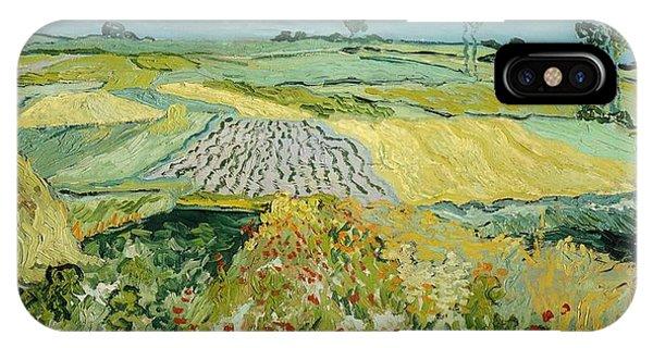 Van Gogh Museum iPhone Case - Wheatfields Near Auvers-sur-oise by Vincent van Gogh