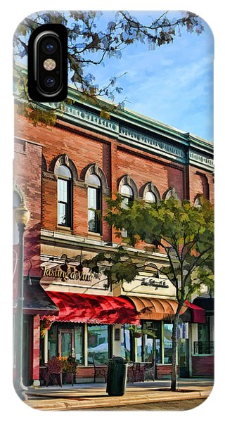 Wheaton Front Street Stores IPhone Case