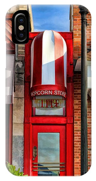 Wheaton Little Popcorn Shop Panorama IPhone Case
