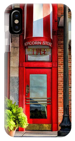Wheaton Little Popcorn Shop Panorama IPhone Case