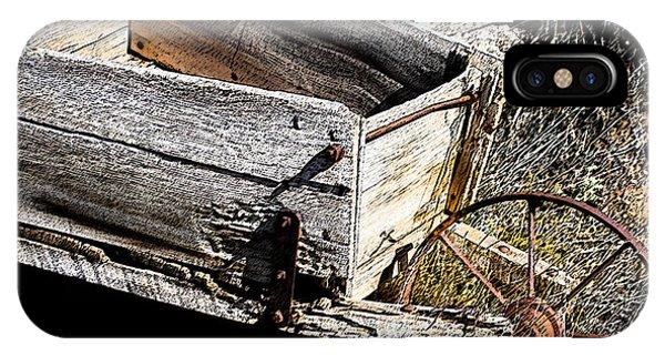 Wheelbarrow Of Time Past IPhone Case