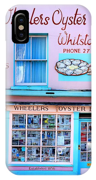 Oyster Bar iPhone Case - Wheelers Oyster Bar by Mark Rogan
