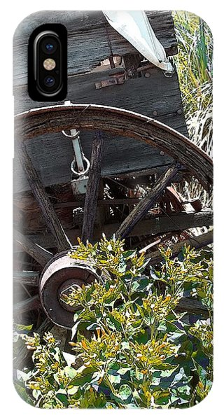 Wheels In The Garden IPhone Case