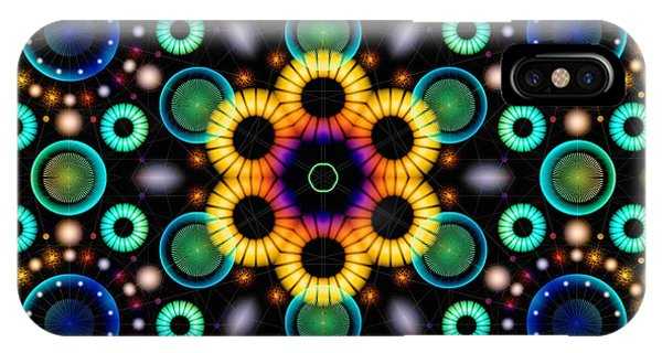 Wheels Of Light IPhone Case