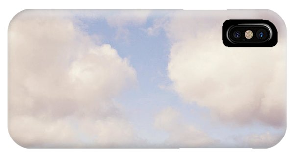 When Clouds Meet The Sea IPhone Case
