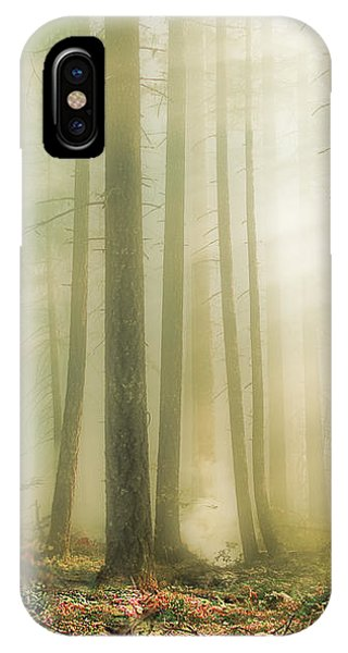 When God Smiles IPhone Case