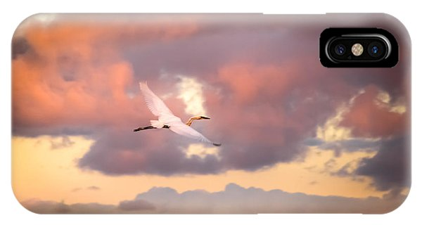 Well Being iPhone Case - When Heaven Beckons by Karen Wiles
