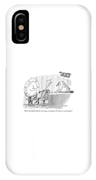 When 'hey Diddle Diddle' Came IPhone Case