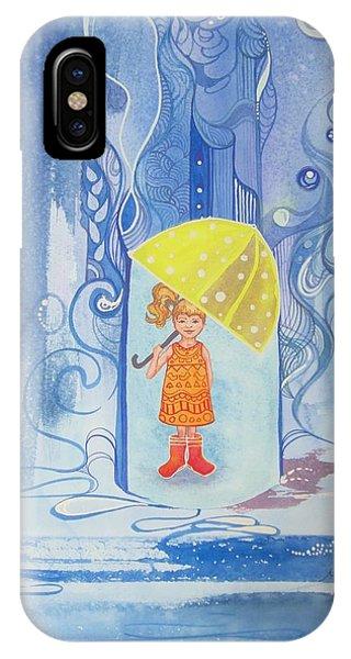 When It Rains It Pours Phone Case by Maya Simonson