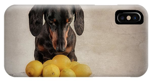 When Life Gives You Lemons... Phone Case by Heike Willers