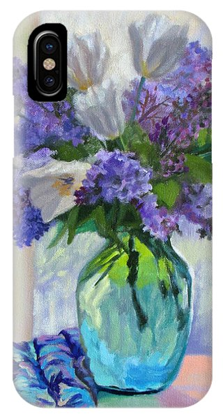 When Lilacs Bloomed IPhone Case