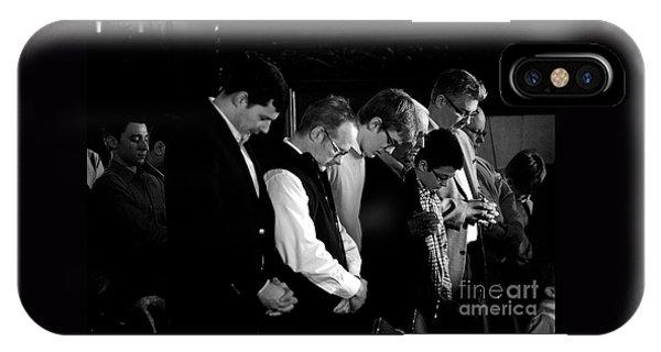 When Men Put God First IPhone Case
