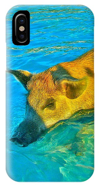 When Pigs Swim IPhone Case