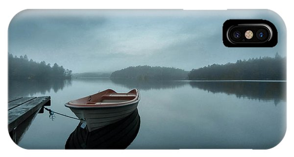Pier iPhone Case - When The Day Wakes by Benny Pettersson
