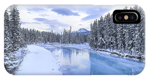 Banff iPhone Case - When The Trees Were Silenced by Evelina Kremsdorf