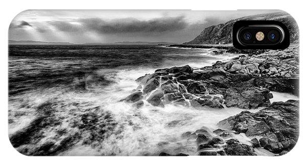Beautiful Scotland iPhone Case - When The West Wind Blows by John Farnan