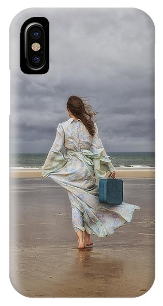 Tidal iPhone Case - When The Wind Blows Away My Dreams by Joana Kruse
