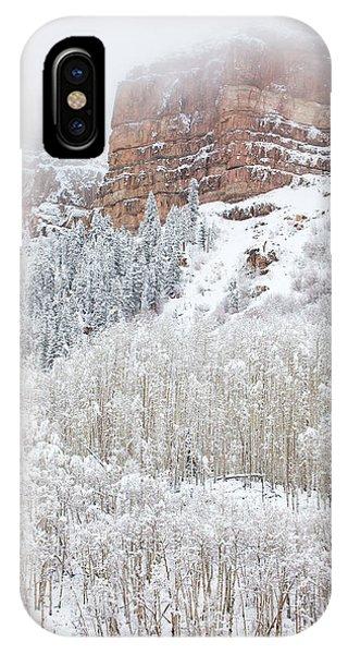 When Winter Falls IPhone Case