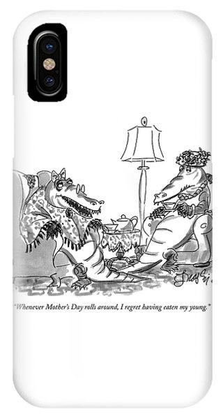 Whenever Mother's Day Rolls IPhone Case