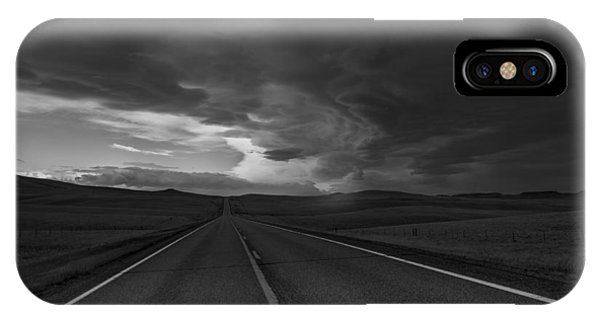 IPhone Case featuring the photograph Where It Goes-3 by Fran Riley