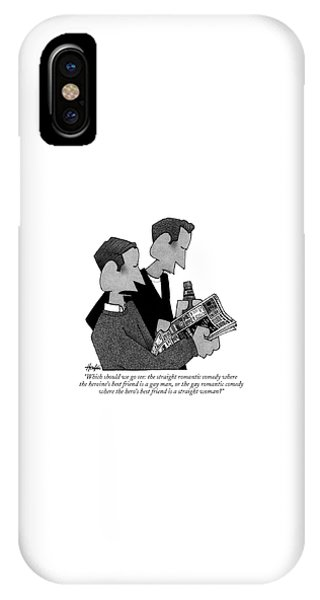 Which Should We Go See: The Straight Romantic IPhone Case