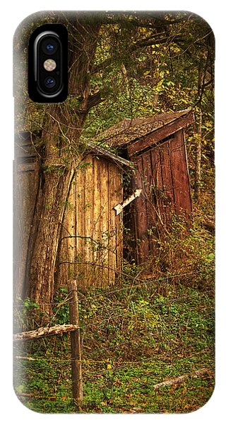Which Way To The Outhouse? IPhone Case