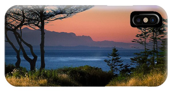 Whidbey Island Sundown IPhone Case